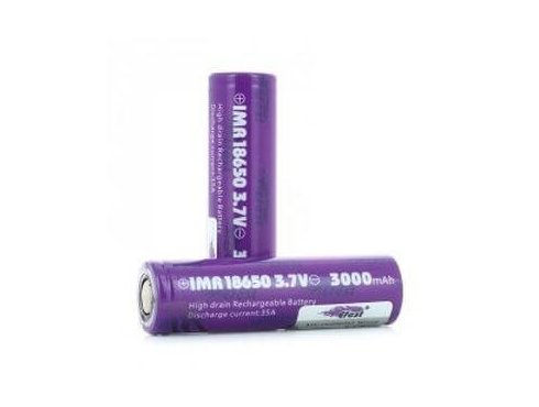 Accu rechargeable 18650 3000mAh 35A flat top